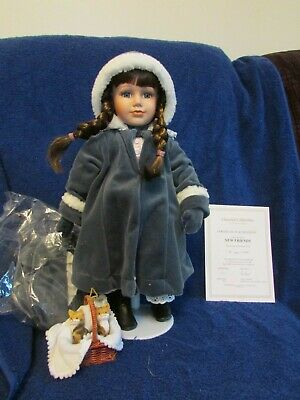 $ CDN35 • Buy Porcelain Chantal Poulin Doll First In The Series New Friends With Original Box