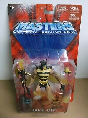$15.50 • Buy He-Man Masters Of The Universe MOTU 200X Buzz-Off 2003 Mattel NOC Sealed