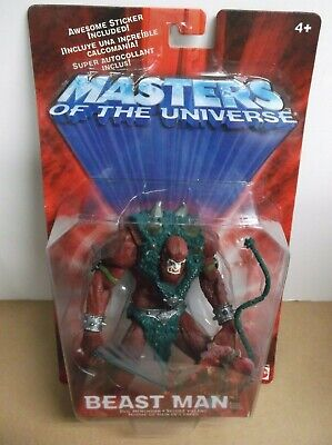 $14.99 • Buy He-Man Masters Of The Universe MOTU 200X Beast Man Variant Color 2001 Mattel NOC