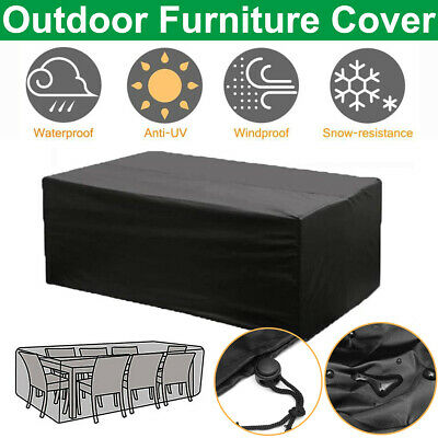 AU27.99 • Buy Outdoor Furniture Round 2.3m*1.1m Cover Waterproof Garden Patio Table Shelter AU