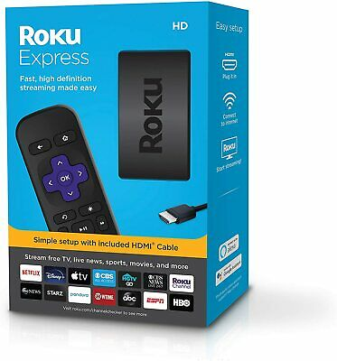 AU83.50 • Buy Roku Express 3930R 1080p HD Streamer W/ Netflix Video Disney+ Apple TV Youtube