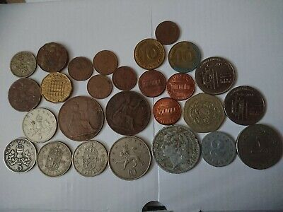 Old UK Coins. Foreign Coins. Collection. Job Lot.  • 1.99£