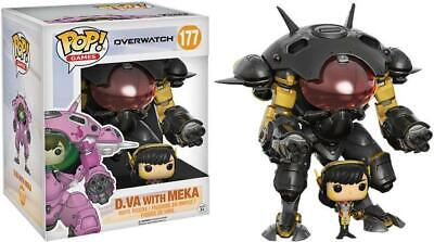 AU39.99 • Buy Overwatch D.Va With Meka Carbon Fibre 6  #177 - New Funko POP! Vinyl Figure (RS)