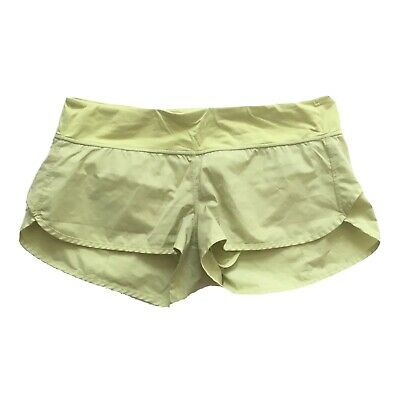 $ CDN53 • Buy Free Shipping Lululemon Speed Up Shorts Sz 10 Key Lime Green Lined Running