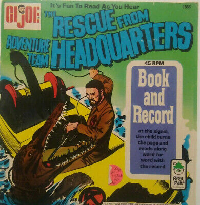 $ CDN3.53 • Buy GI Joe Adventure Team: The Rescue From Headquarters Comic Book With 45RPM Record
