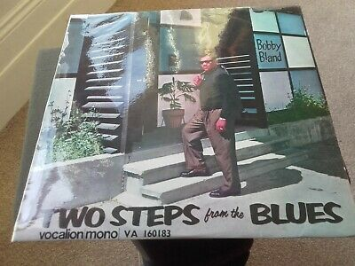 BOBBY BLAND Two Steps From The Blues. Origin 1963 VOCALION UK LP EXC+. `tested`. • 164.99£
