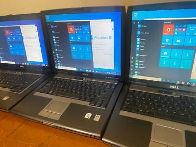 $ CDN534.88 • Buy Lot Of 3 DELL Latitude D520 D530 D531 1.67GHz To 2.00GHz  3GB 250GB WIN10 PRO