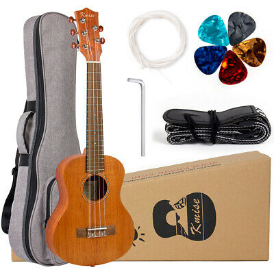 AU72.99 • Buy Kmise 5 String Ukulele 26 Inch Tenor Ukulele With Bag Strap Picks Strings