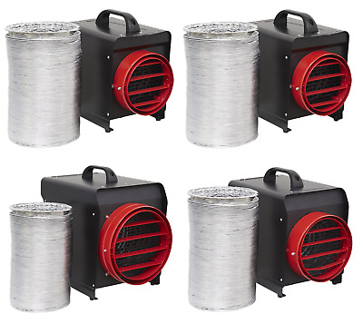 £94.95 • Buy Sealey Industrial Fan Heater 2/3/5/10kW With Ducting