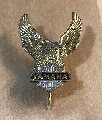 Vintage YAMAHA Motorcycle Bike Badge • 6.99£