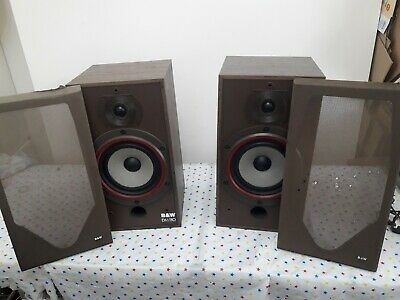 $ CDN265.72 • Buy B&W DM110 Bowers And Wilkins Floor Standing Speakers Audiophile England Made