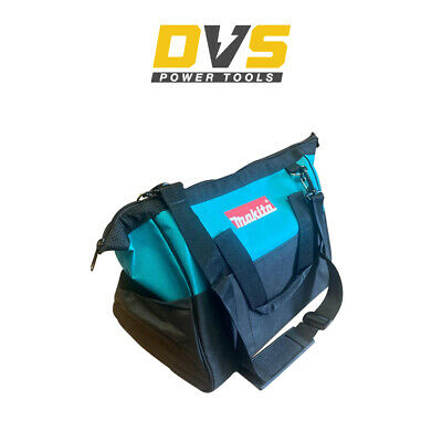 Makita 10  25cm Open Mouth LXT ToolBag Tool Bag Holdall Blue And Shoulder Strap • 26.90£