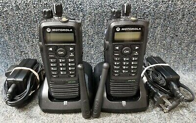 $427.77 • Buy Motorola XPR6550 UHF Digital DMR MotoTrbo Set Of 2 Radios 430-470 VERY GOOD