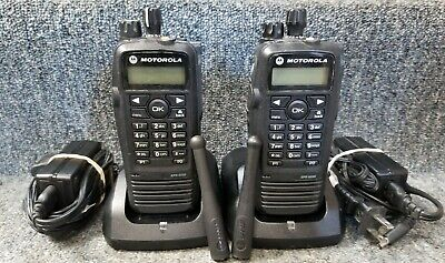 $377.77 • Buy Motorola XPR6550 UHF Digital DMR MotoTrbo Set Of 2 Radios 403-470 GOOD 1-7 Sets
