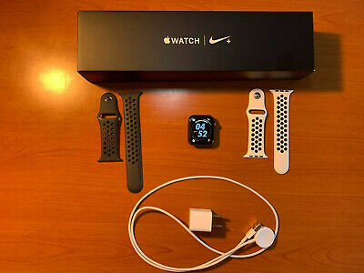 $ CDN367.48 • Buy Apple Watch Series 4 Nike+ 44 Mm Space Gray Aluminum Case With Anthracite/Black