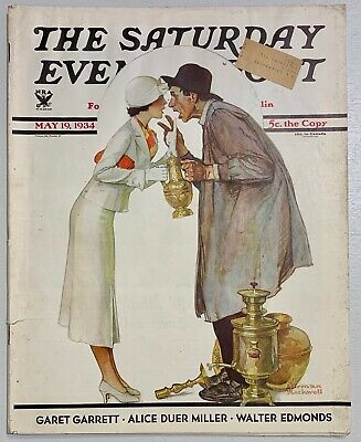 $ CDN13.41 • Buy Saturday Evening Post Norman Rockwell Cover 1934 May 19