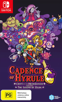 AU61.95 • Buy Cadence Of Hyrule Crypt Of The NecroDancer Ft Legend Of Zelda Switch Game NEW