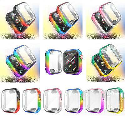 AU10.99 • Buy For Apple Watch Series SE 6 5 4 3 2 1 Case Soft Full Cover 38 40 42 44mm Protect