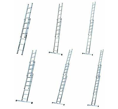 Youngman Trade 200 Aluminium Extension Ladder EN131 Professional 2 & 3 Section • 154.45£