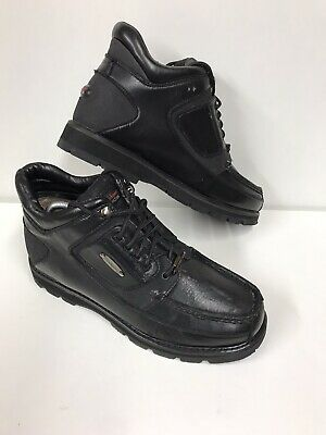 MENS ROCKPORT XCS VIBRAM HIKING BOOTS SIZE 10 Some Leather Issues See Photos • 10£