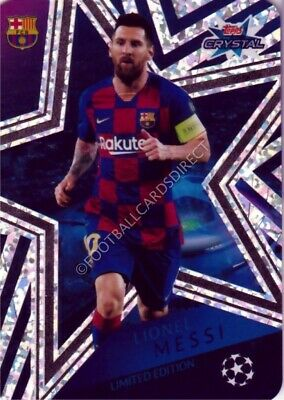 £0.99 • Buy #le1 Lionel  Messi (limited Edition) Champions League Crystal 2019-20