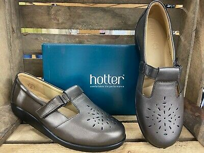 Ladies Hotter Size 8 Dark Pewter Eee Fit Shoes  Sunset  Minor Imperfect Rrp £60 • 22.99£