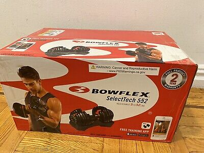 $ CDN492.02 • Buy NEW Bowflex SelectTech 552 SINGLE ONE Adjustable Dumbbell Weight SHIPS FAST!!