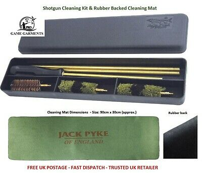 £28.50 • Buy Shotgun Cleaning Kit And Cleaning Mat Set. Options, 12g, 20g, .410.