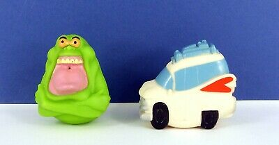 Vintage Ljn Toys Ghostbusters Spit Balls Green Slimer Ghost & Ecto 1 ( Vgc • 9.99£