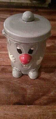 Fab Vintage Retro Dusty Bin Ceramic Hand Painted Money Box  3-2-1 Ted Rogers • 5£