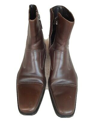 Mens  Brown Leather GUCCI Boots 43E • 135£