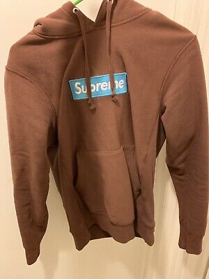 $ CDN601.47 • Buy Supreme Box Logo Hoodie Rust Small
