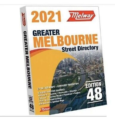 AU69.80 • Buy 2021 MELWAY Melbourne Street Directory Maps Edition 48 PREORDER NOVEMBER RELEASE