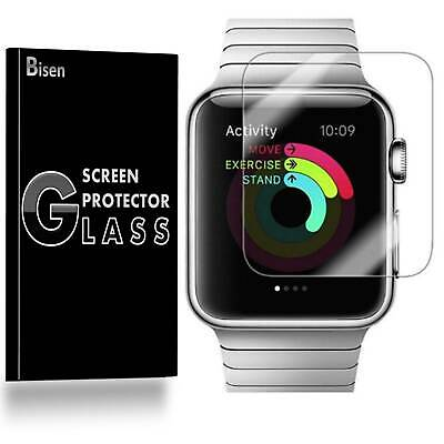 $ CDN10.36 • Buy Tempered Glass Screen Protector Guard For Apple Watch Series 6 5 4 SE (40/44mm)