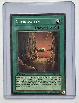 YuGiOh! Necrovalley PGD 084 1st Edition Near Mint Super Rare • 9.99£