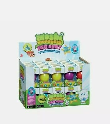 ×6 Moshi Monsters Egg Hunt Toy Blind Box  Collectable  • 9.99£