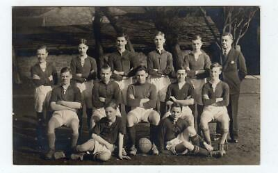 Picture Postcard Of A School Football Team, 1931-32 (JH6123) • 7£