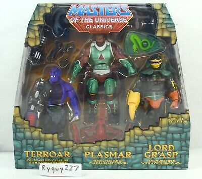 $595 • Buy MOTUC, Power Con 3-Pack, Masters Of The Universe Classics, Sealed Box, MISB, MOC