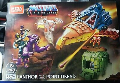 $89.99 • Buy Masters Of The Universe Mega Construx Set Panthor At Point Dread🔥Ready To Ship