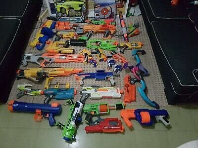 AU26 • Buy NERF GUNS And Accessories, Bulk Lot huge Lot Mixed Guns. Pick Up Only