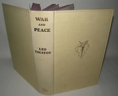 £28 • Buy Leo Tolstoy - War And Peace -  Reprint Society - 1960 - Hardback Illustrated