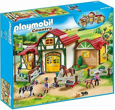 Playmobil 6926 Country Large Horse Farm Special Buy • 69.99£