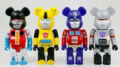 $300 • Buy BE@RBRICK Special Edition TRANSFORMERS LOT Takara Tomy | Medicom Toy U.S. SELLER