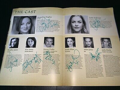 Wicked The Musical SIGNED Programme UK Tour Bradford RARE • 65£
