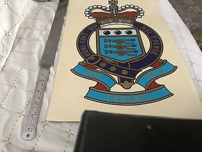 Royal Army Ordnance Corps RAOC Sticker X 245cm X 28 Cm • 3£
