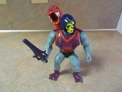 $59.95 • Buy 1980's MASTERS OF THE UNIVERSE DRAGON BLASTER SKELETOR FIGURE W/ARMOR & SWORD