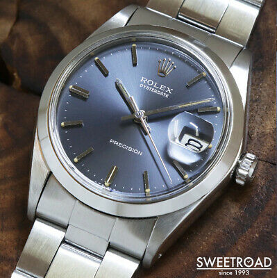 $ CDN6513.74 • Buy Rolex Oyster Date Ref.6694 Vintage Cal.1225 Manual Winding Mens Watch Authentic