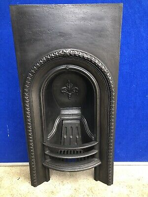 Cast Iron Fireplace / Insert / Victorian Arch Style • 175£