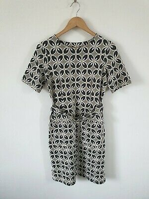 £14.99 • Buy Next Belted Retro Carpet Style Dress Size 10 Worn Once