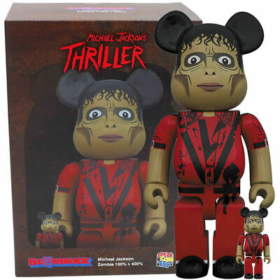 $199.99 • Buy Michael Jackson Thriller Zombie Bearbrick 400 100% Medicom Japan Be@rbrick Wolf